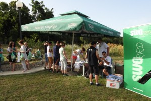1.Registration desk in Oteshevo