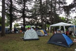 2.Campsite in Oteshevo